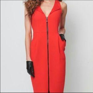 Eva Franco Zipper Front Sleeveless Career Dress 12